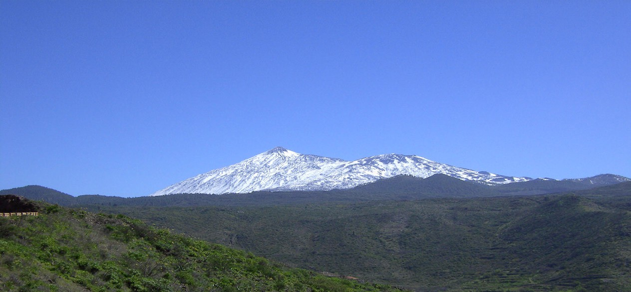 mount teide is the highest mountain in spain